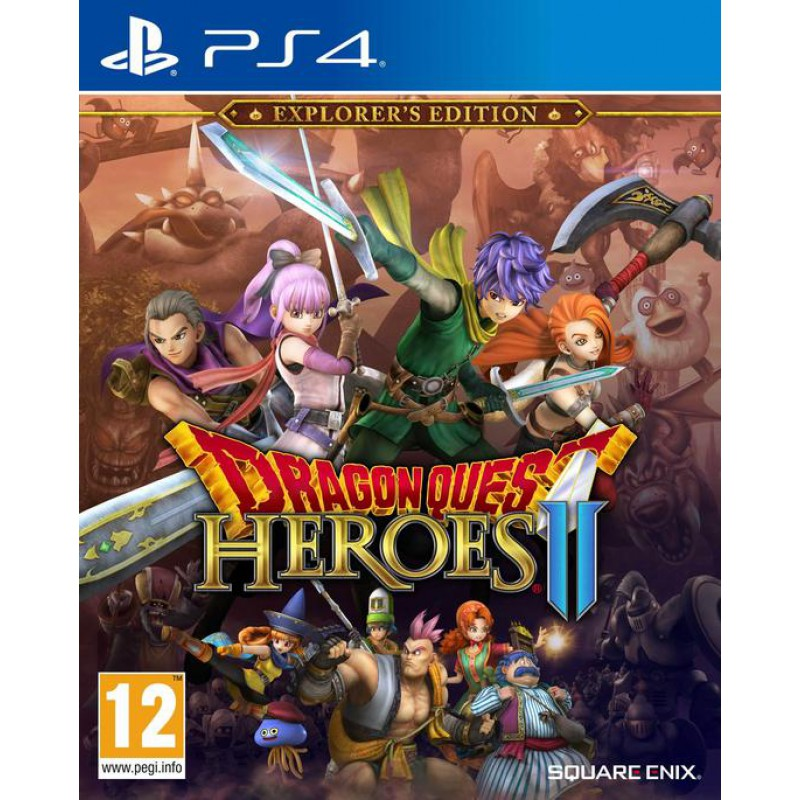 image du jeu Dragon Quest Heroes 2 Explorateur Edition sur PS4
