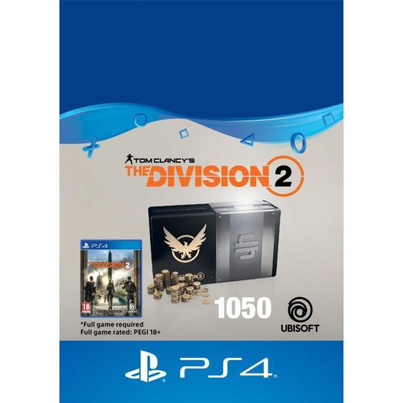 image du jeu The Division 2 - DLC - 1050 Premium Credits Pack - Version digitale sur PS4