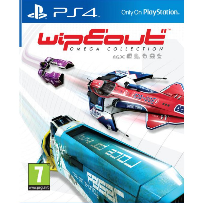image du jeu WipEout Omega Collection sur PS4