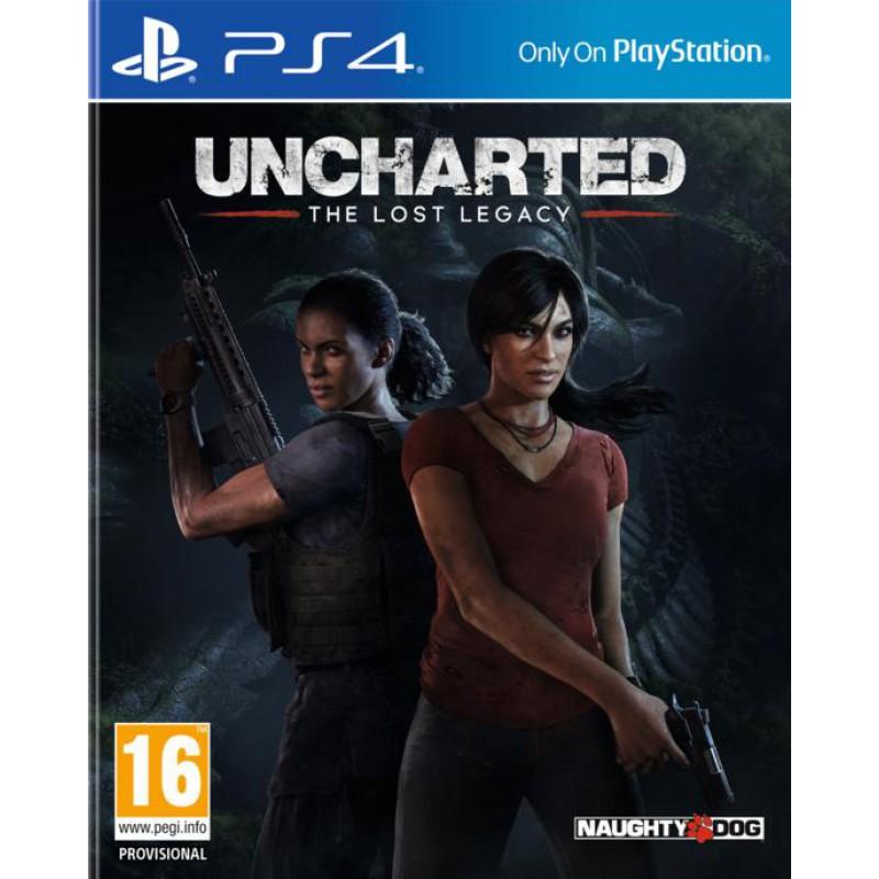 image du jeu Uncharted : The Lost Legacy sur PS4