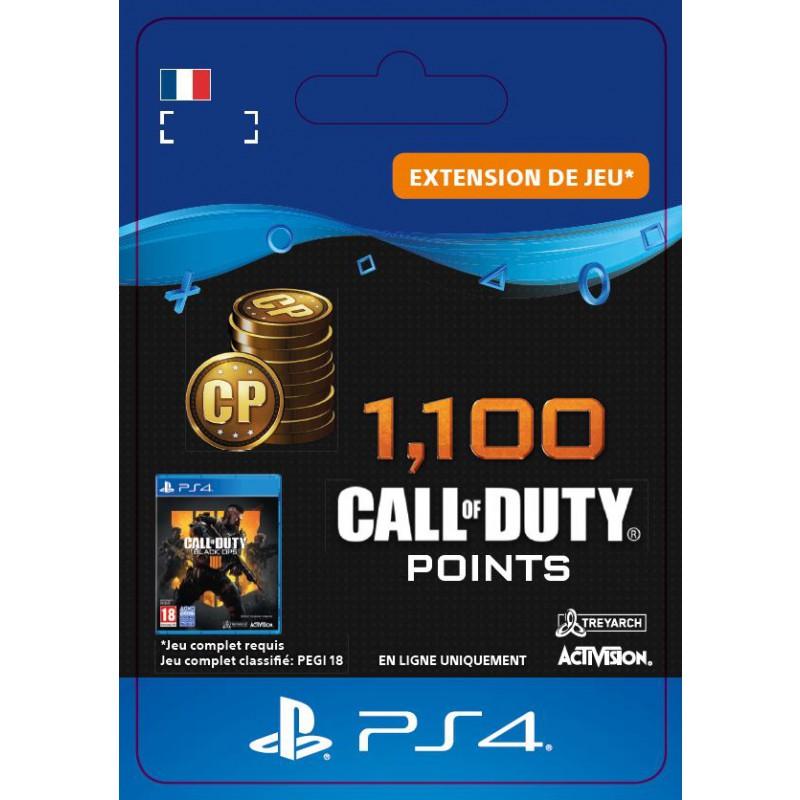 image du jeu Call of Duty Black Ops IIII - DLC - 1100 Points - Version digitale sur PS4