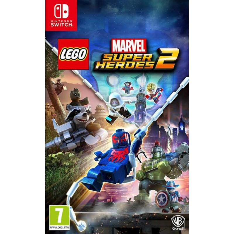 image du jeu Lego Marvel Super Heroes 2 sur SWITCH