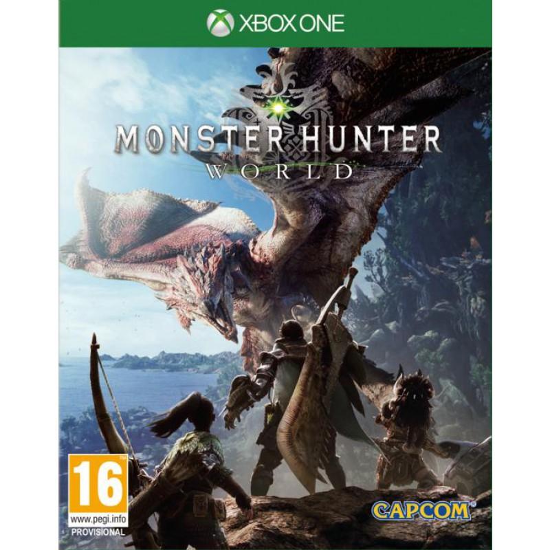 image du jeu Monster Hunter World sur XBOX ONE