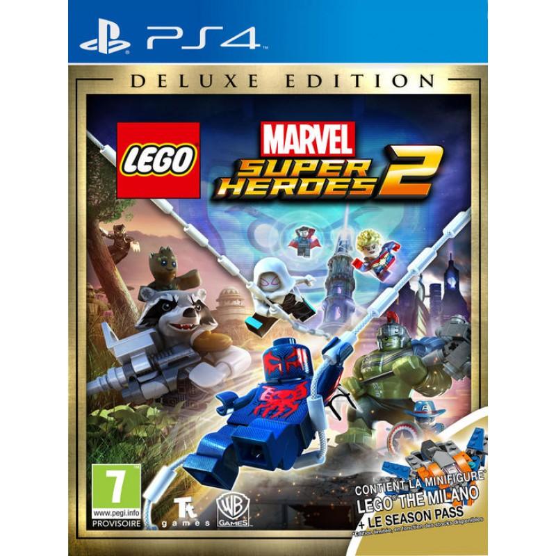 image du jeu Lego Marvel Super Heroes 2 Deluxe Edition Milano Ship sur PS4