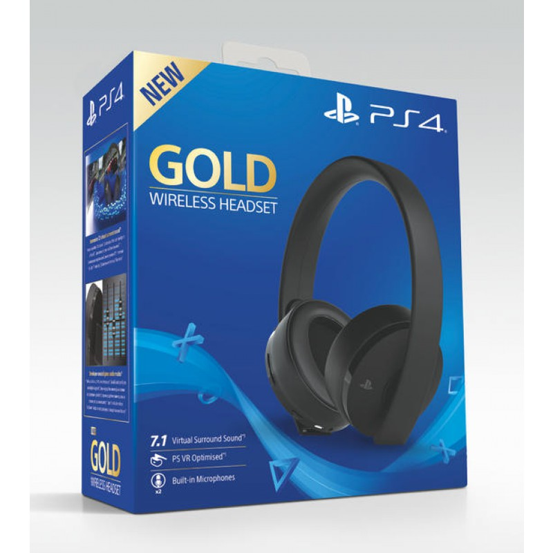Casque Sans Fil Gold Ps4