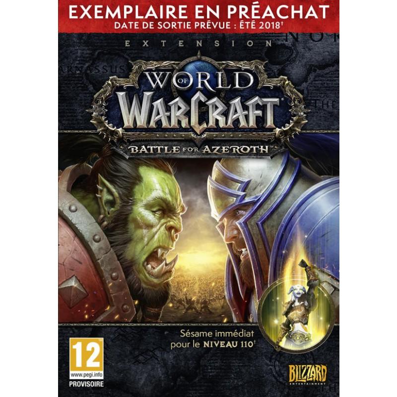 image du jeu Wow Battle for Azeroth Boite Pre-achat sur PC