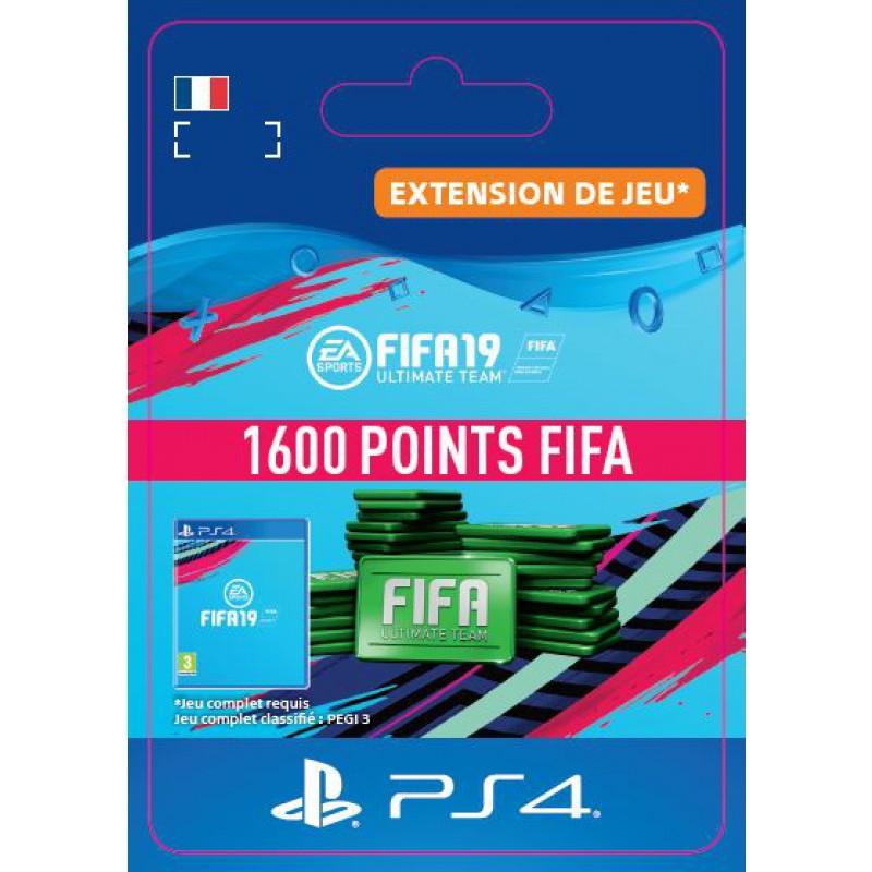 image du jeu FIFA 19 - DLC - FIFA Ultimate Team - 1600 Pts - Version digitale sur PS4