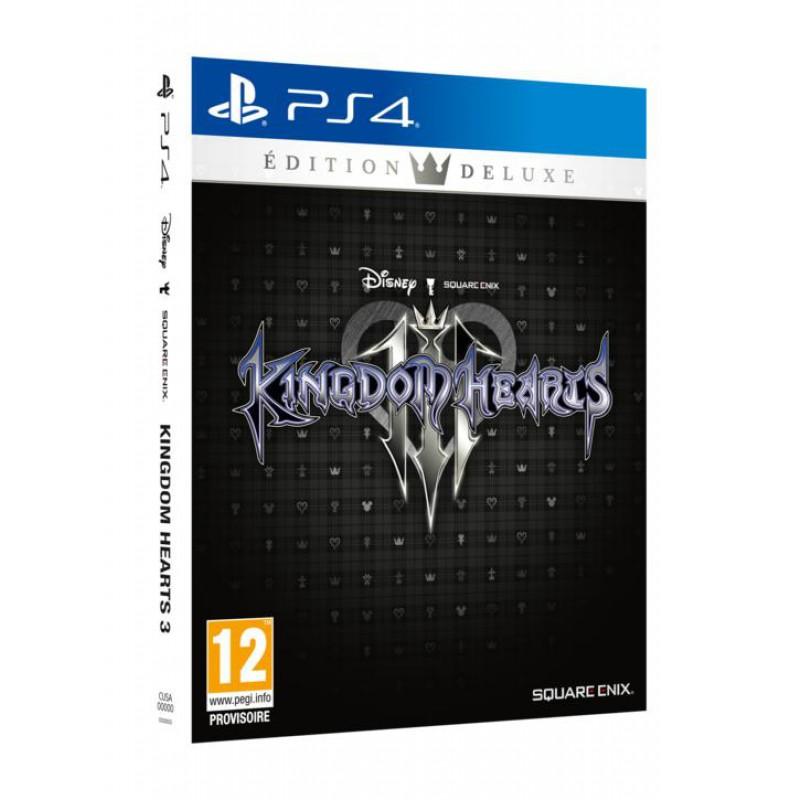 image du jeu Kingdom Hearts 3 Deluxe Edition sur PS4