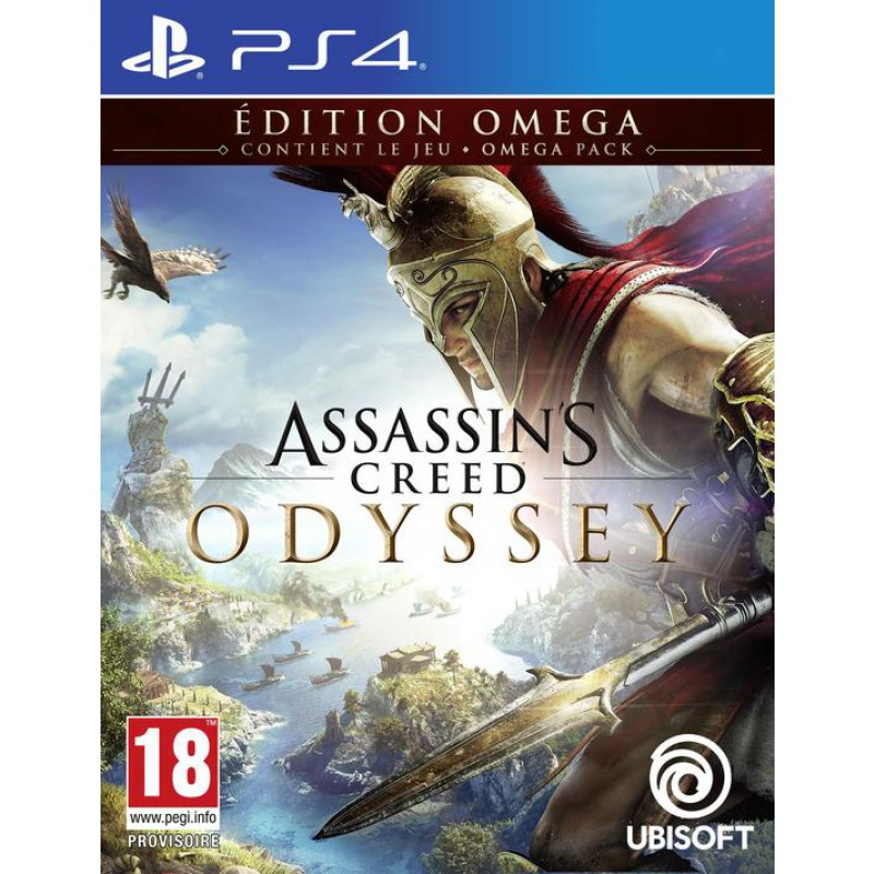 image du jeu Assassin's Creed Odyssey Edition Omega Exclusivité Micromania sur PS4