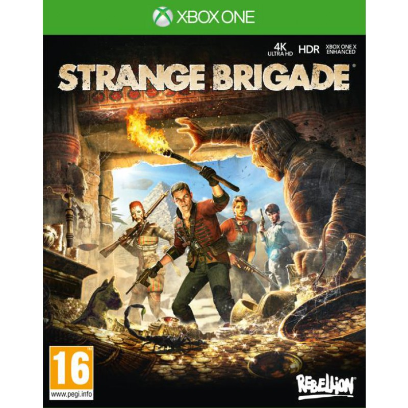 image du jeu Strange Brigade sur XBOX ONE