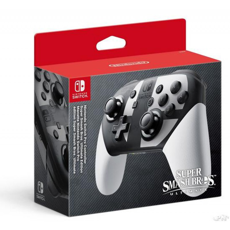 image du jeu Manette Nintendo Switch Pro Edition Super Smash Bros Ultimate  sur SWITCH