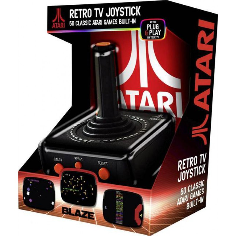 image du jeu Atari Tv Plug & Play Av Joystick + 50 Jeux sur WII