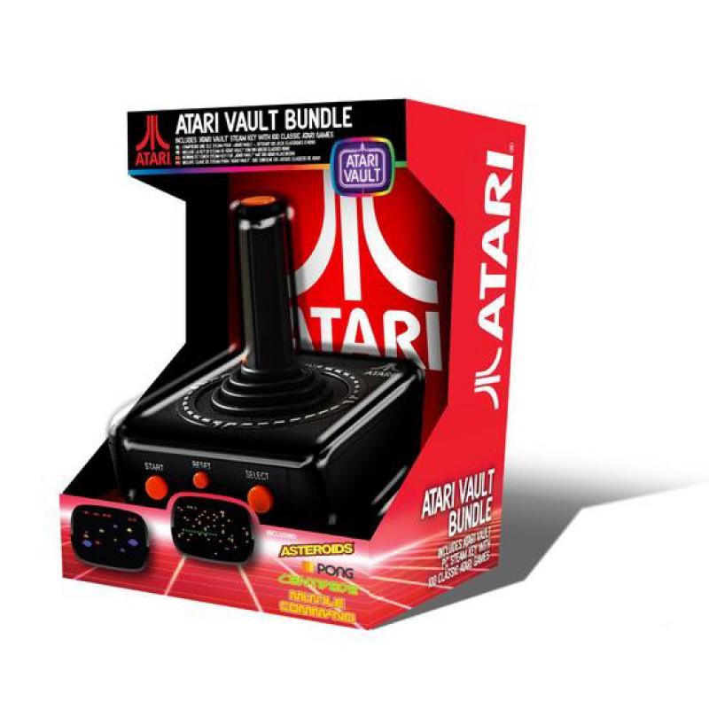 image du jeu Atari Vault + Ubs Joystick + 100 Jeux sur WII