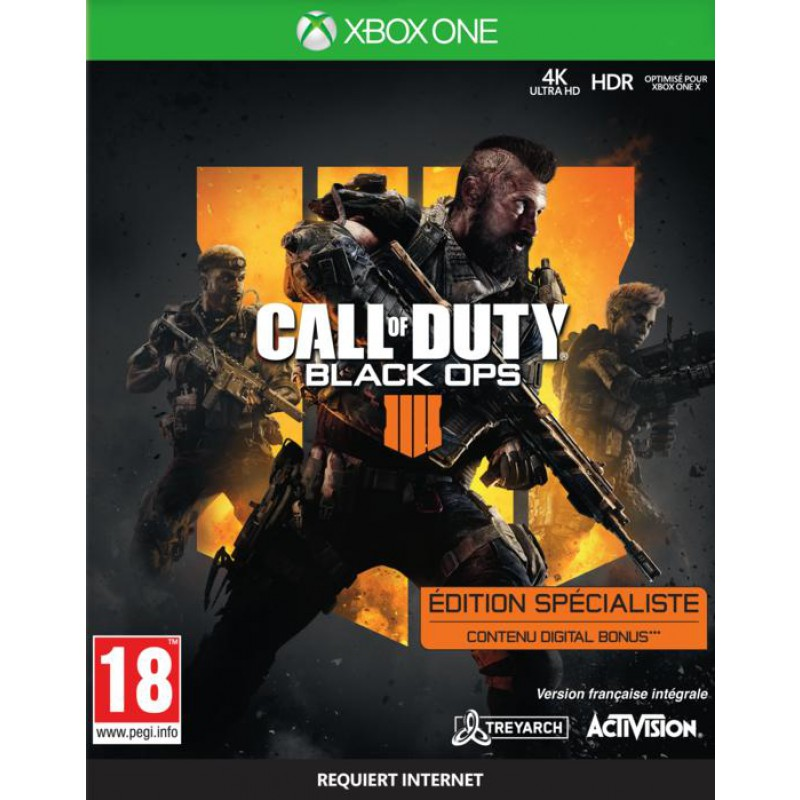 image du jeu Call Of Duty Black Ops IIII Specialist Edition - Exclusivité Micromania sur XBOX ONE