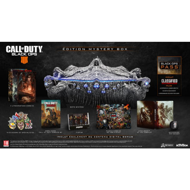 image du jeu Call Of Duty Black Ops IIII Mystery Box sur PS4