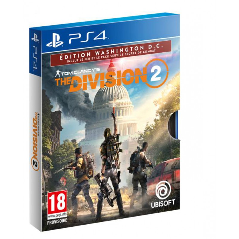 image du jeu The Division 2 Edition Washington DC - Exclusivité Micromania sur PS4