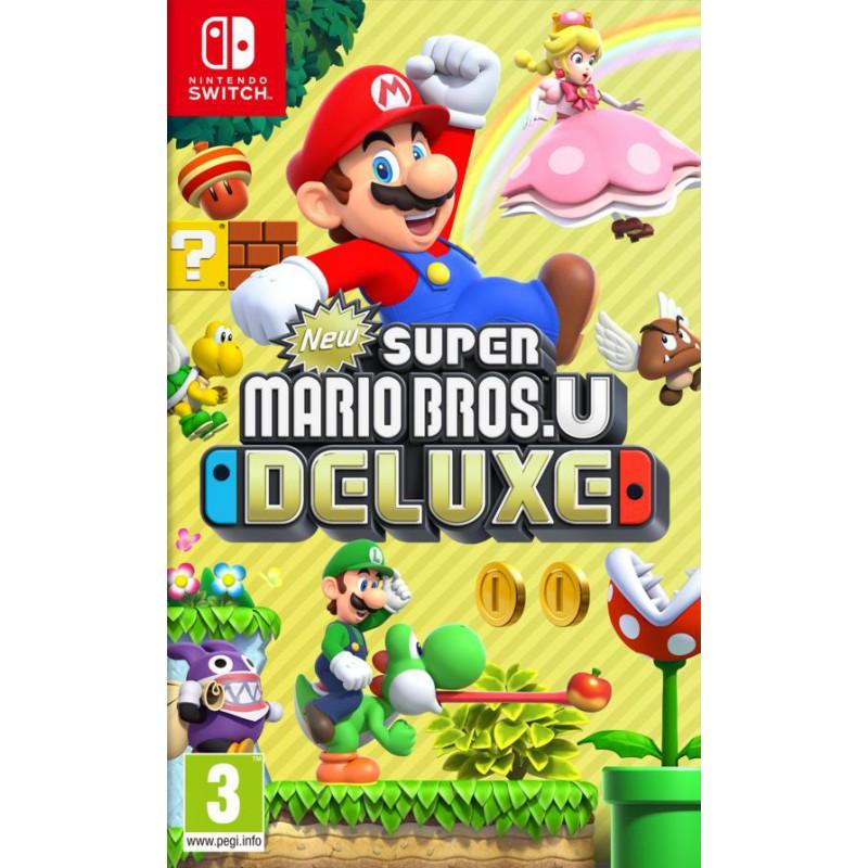 image du jeu New Super Mario Bros U Deluxe sur SWITCH