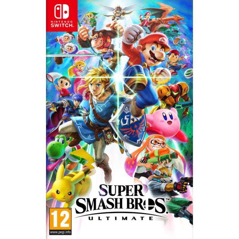 image du jeu Super Smash Bros. Ultimate sur SWITCH