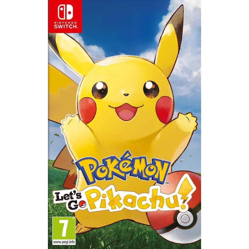 image du jeu Pokemon Let's Go Pikachu sur SWITCH