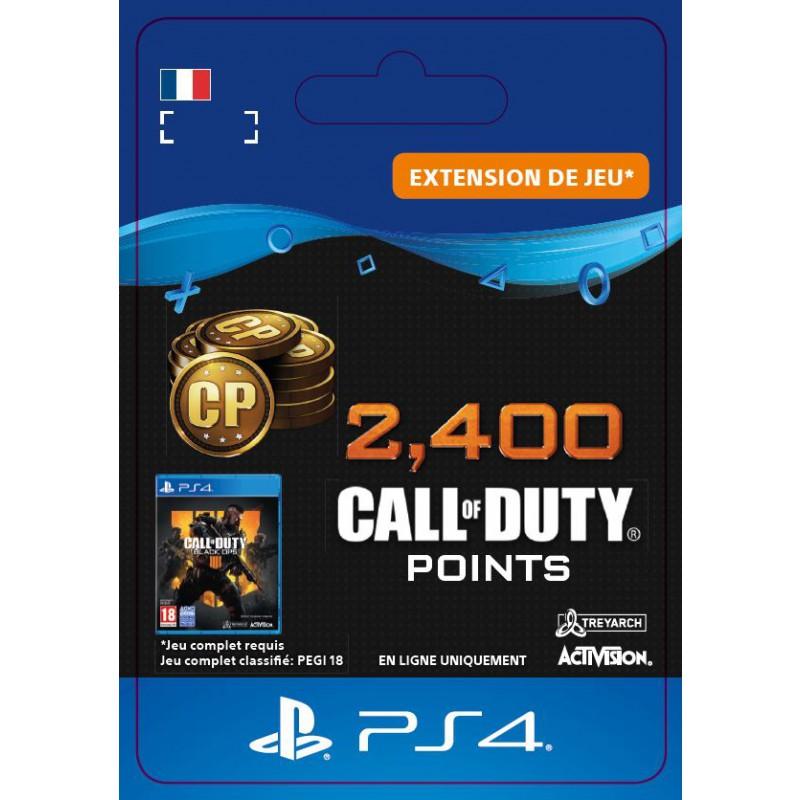 image du jeu Call of Duty Black Ops IIII - DLC - 2400 Points - Version digitale sur PS4