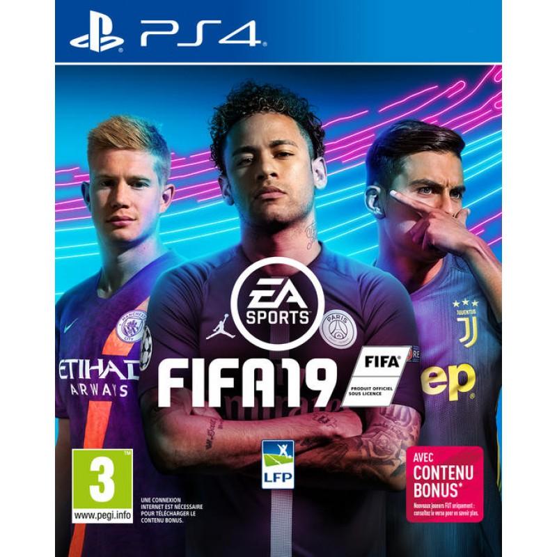 image du jeu FIFA 19 sur PS4