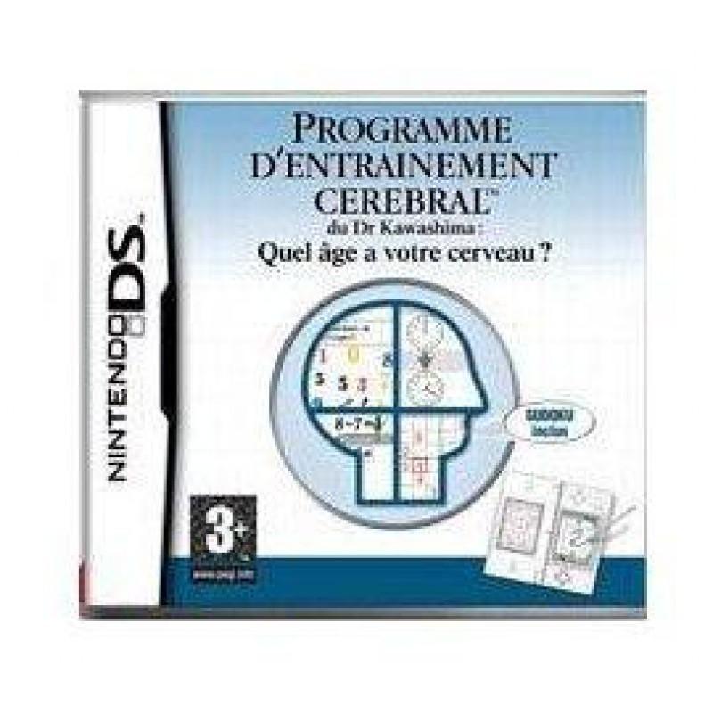 image du jeu Programme D'entrainement Cerebral Du  Docteur  Kawashima sur DS