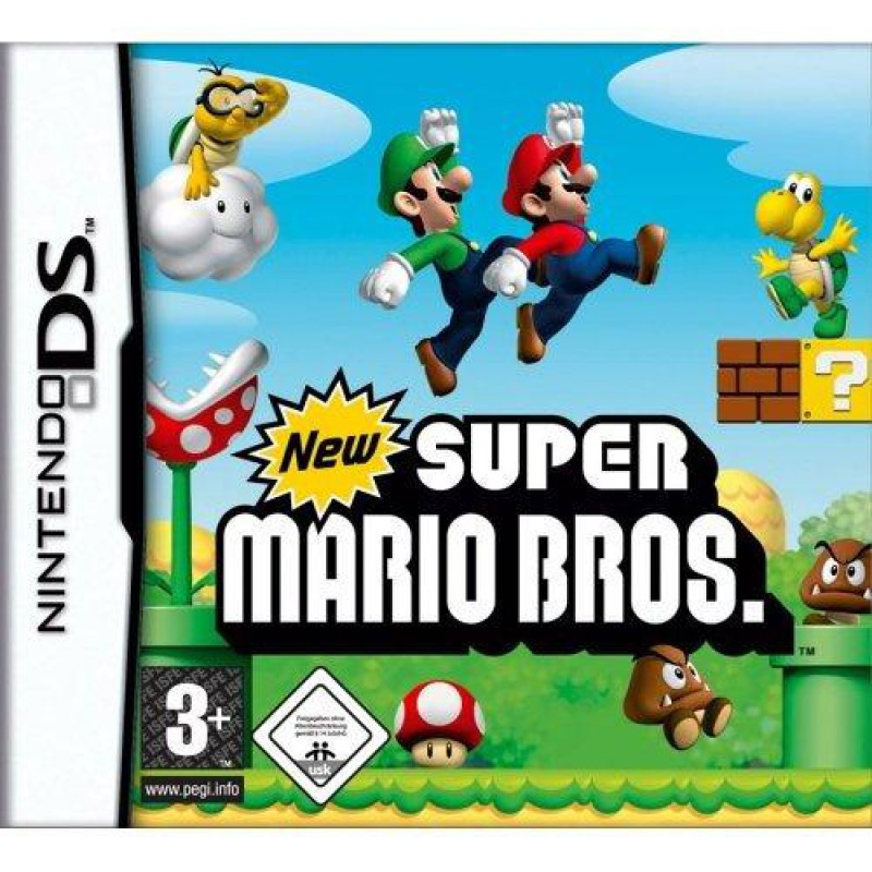 image du jeu New Super Mario Bros sur DS