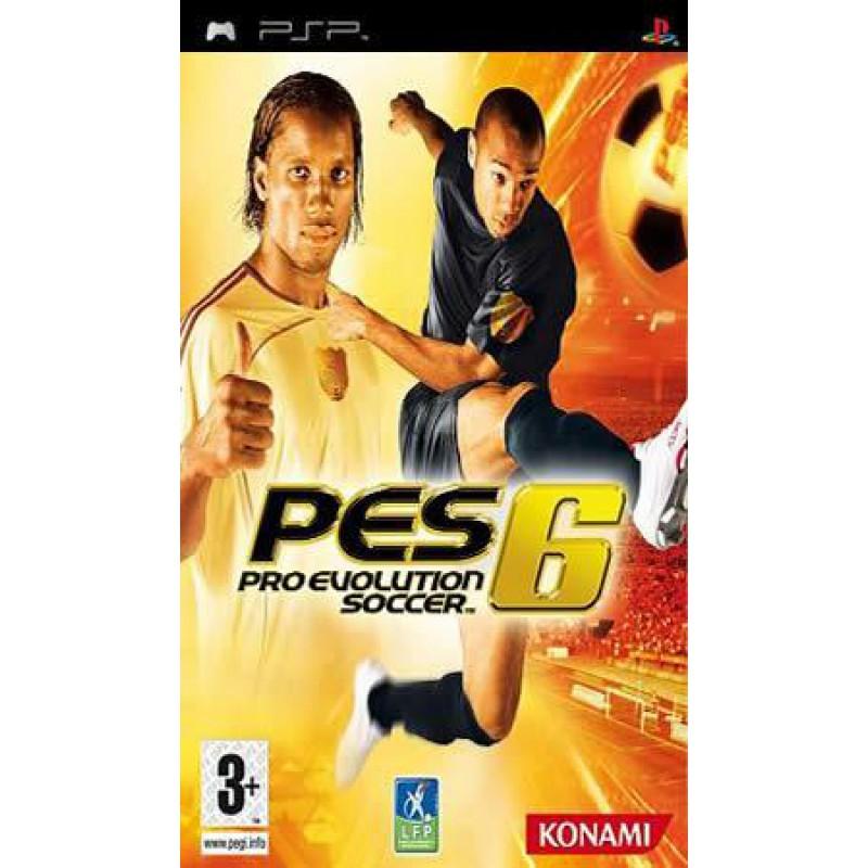 image du jeu Pro Evolution Soccer 6 sur PSP