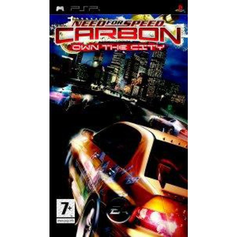 image du jeu Need For Speed Carbon, Own The City sur PSP