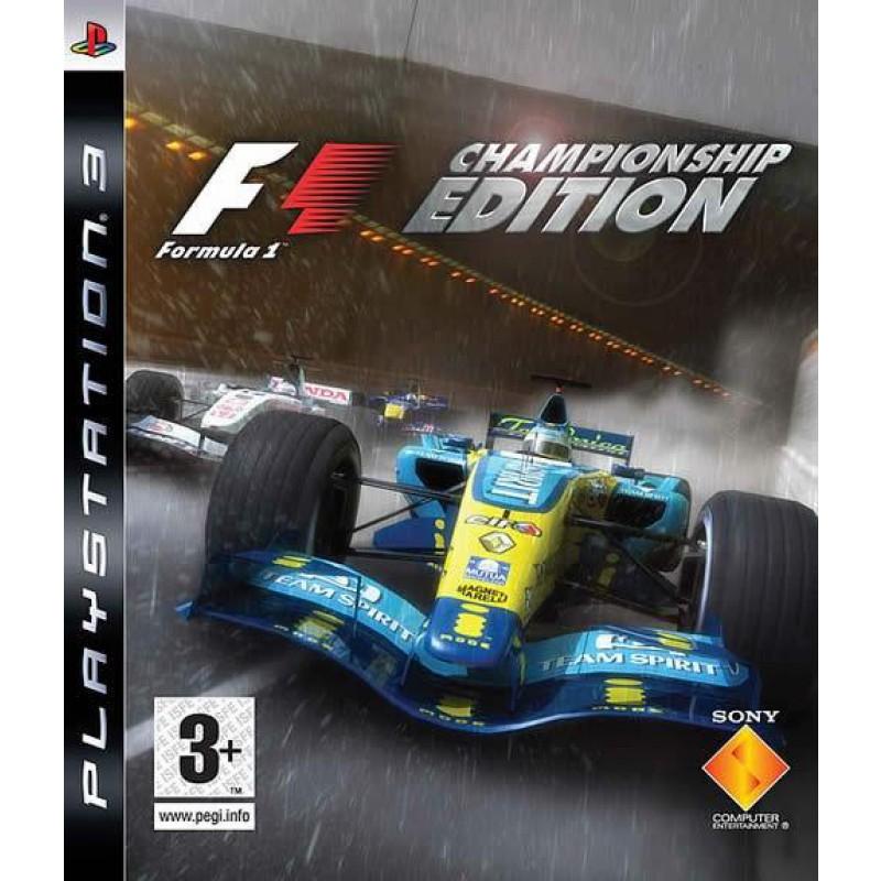 image du jeu Formula One Championship Edition sur PS3