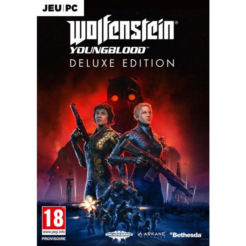 image du jeu Wolfenstein Youngblood DELUXE EDITION sur PC