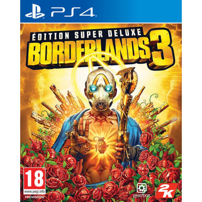 image du jeu Borderlands 3 Super Deluxe sur PS4