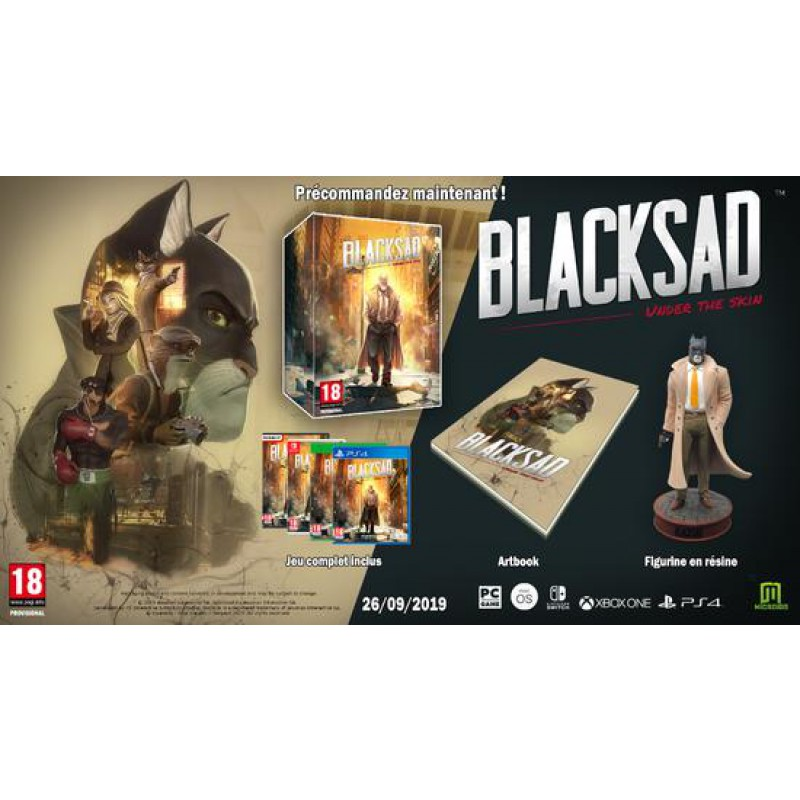 Blacksad Under The Skin Collector XBOX ONE