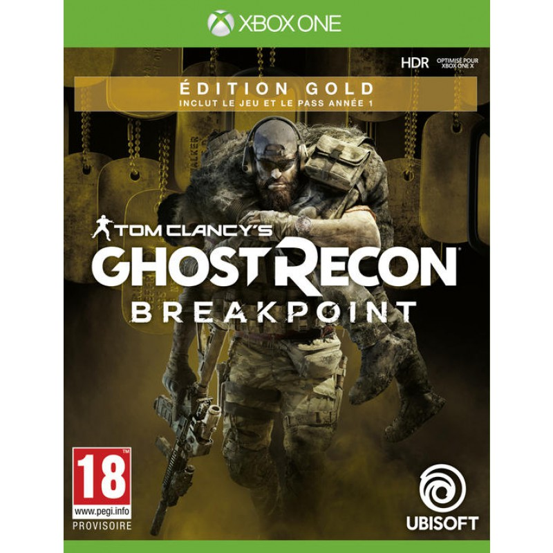 Ghost Recon Breakpoint Edition Gold XBOX ONE