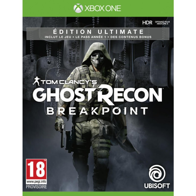Ghost Recon Breakpoint Edition Ultimate (exclusivité Micromania) XBOX ONE