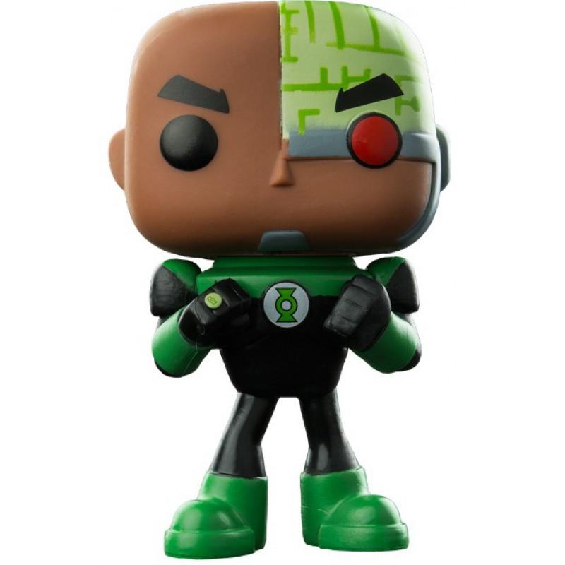 image du jeu Figurine Toy Pop N°338 - Teen Titans Go ! - Cyborg as Green Lantern sur AUTRES