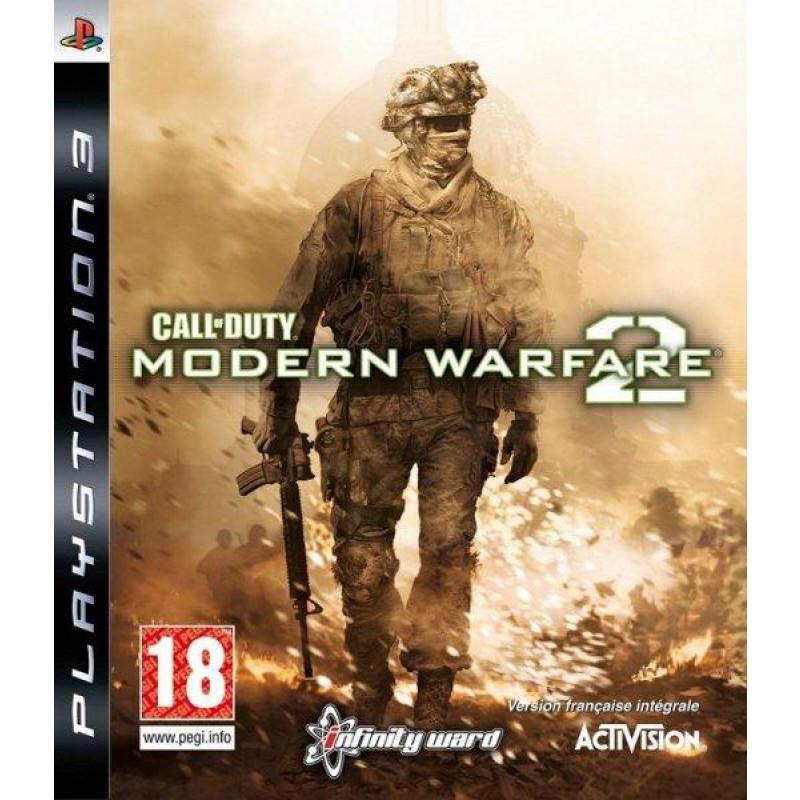 image du jeu Call Of Duty, Modern Warfare 2 sur PS3