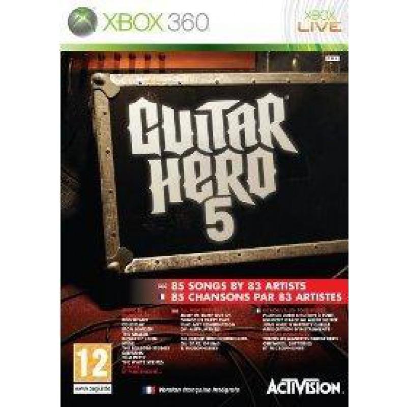 image du jeu Guitar Hero 5 sur XBOX 360