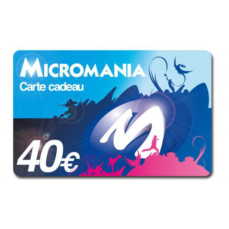 rembourser carte cadeau micromania
