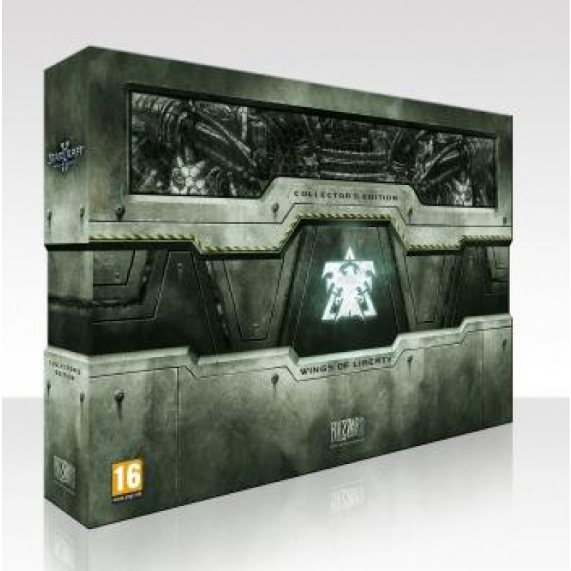 image du jeu Starcraft Ii, Wings Of Liberty Edition Collector  sur PC