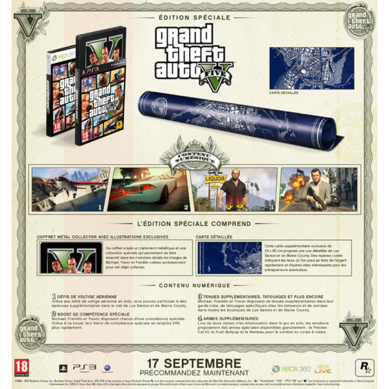 image du jeu Grand Theft Auto V (gta) sur PS3