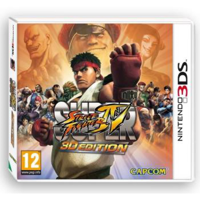 image du jeu Super Street Fighter IV 3d Edition sur 3DS