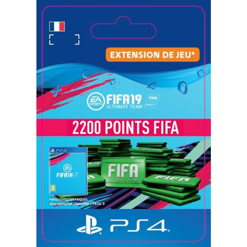 image du jeu FIFA 19 - DLC - FIFA Ultimate Team - 2200 Pts - Version digitale sur PS4