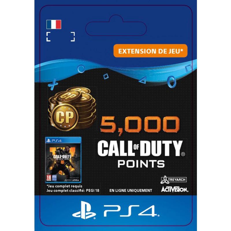 image du jeu Call of Duty Black Ops IIII - DLC - 5 000 Points - Version digitale sur PS4