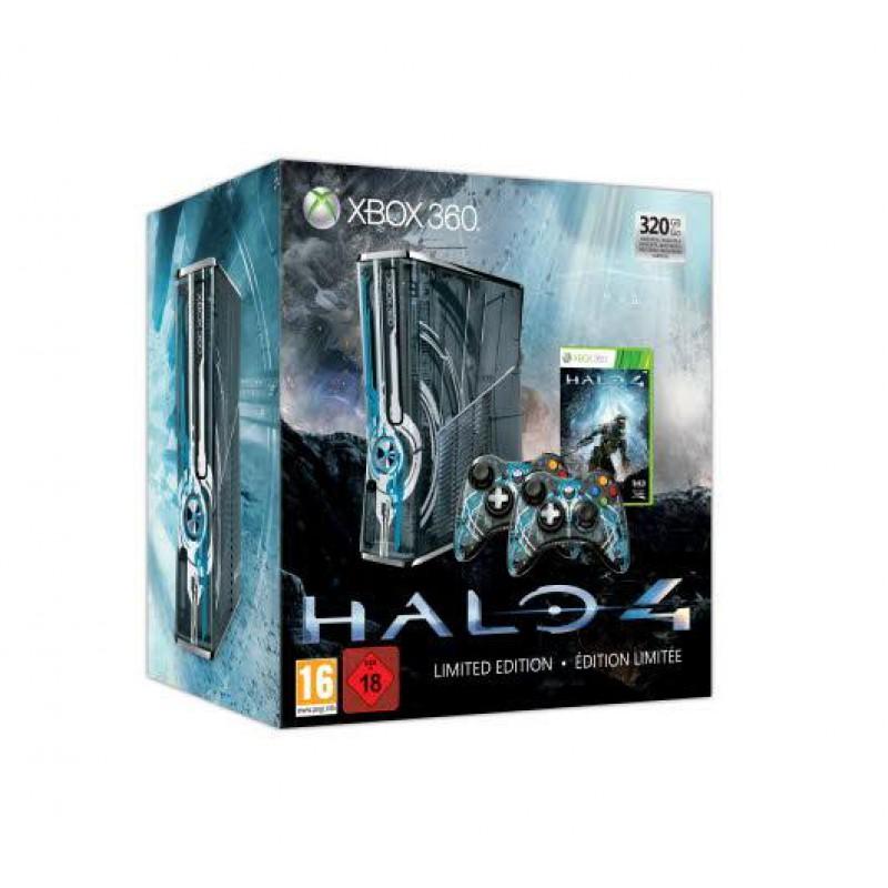 image du jeu Pack Xbox 360 320 Go + Halo 4 Edition Limitée sur XBOX 360