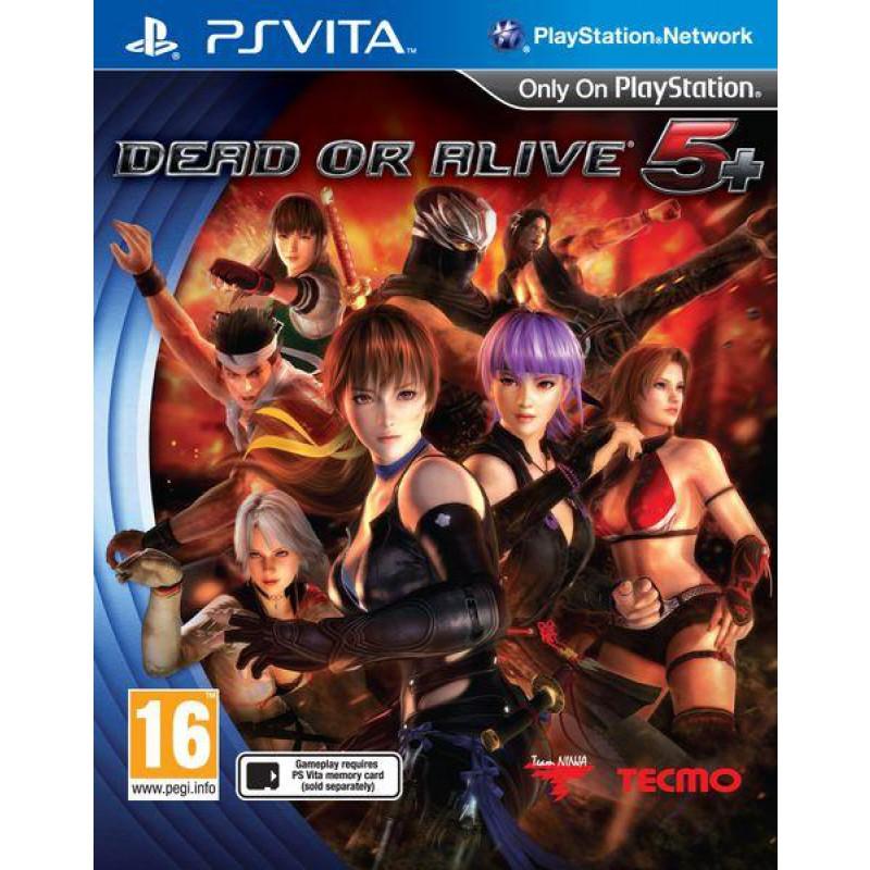 image du jeu Dead Or Alive 5 + sur PS VITA