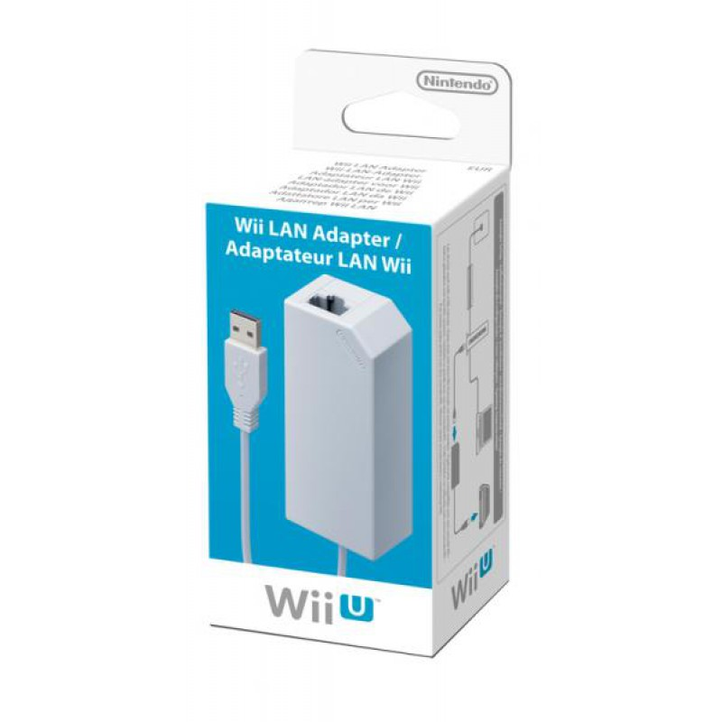 image du jeu Adaptateur Lan Wii U sur WII U
