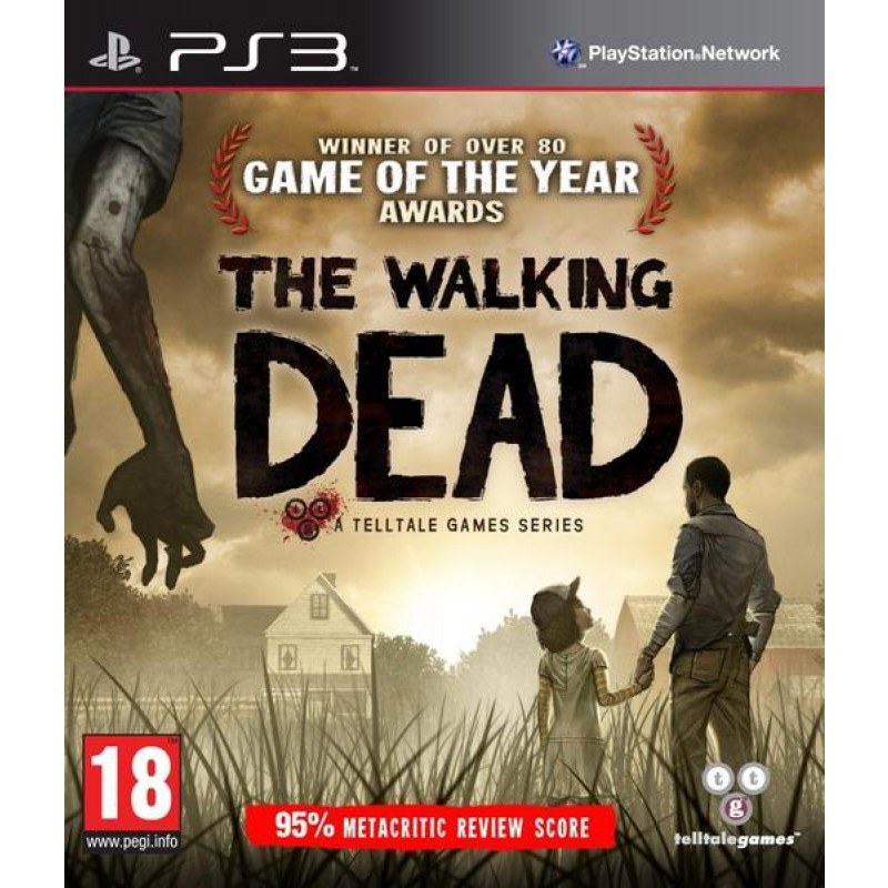 image du jeu The Walking Dead sur PS3