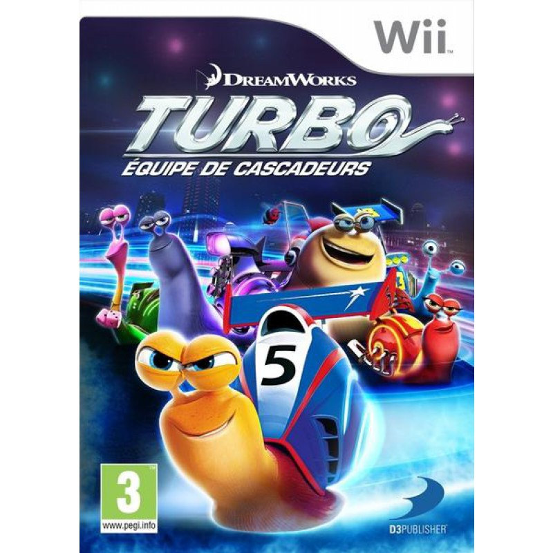 image du jeu Turbo : Equipe De Cascadeurs sur WII