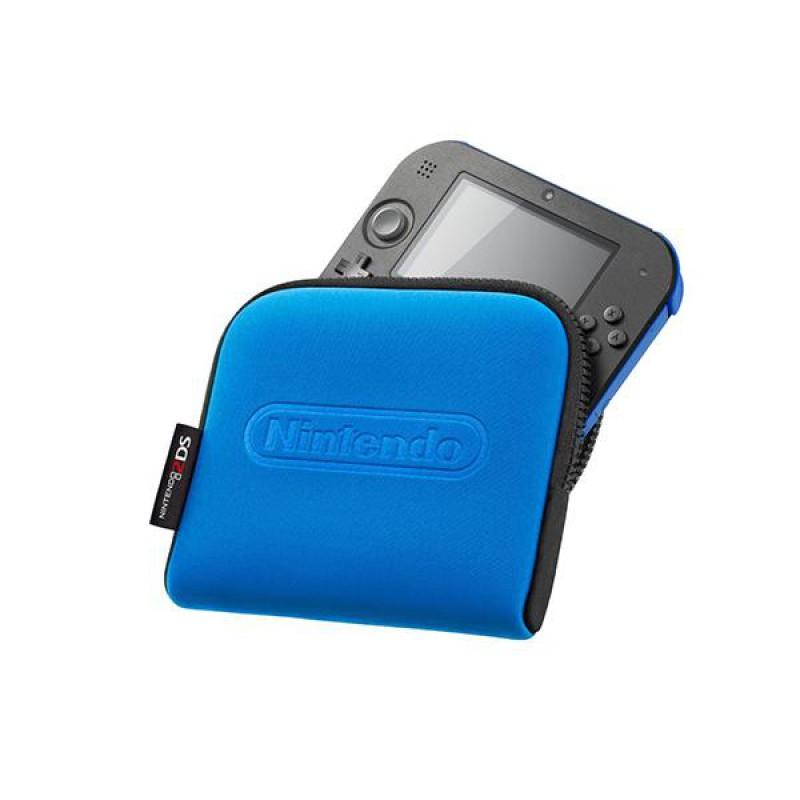 image du jeu Pochette De Transport 2ds Bleue sur 3DS